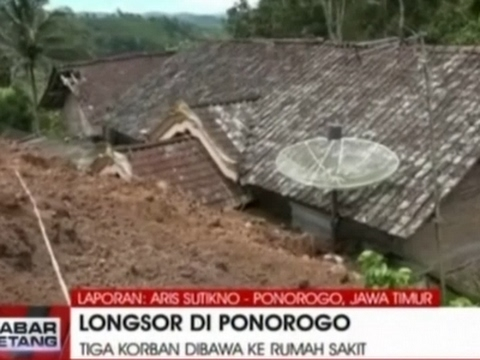 Two Dozen Missing After Indonesia Landslide