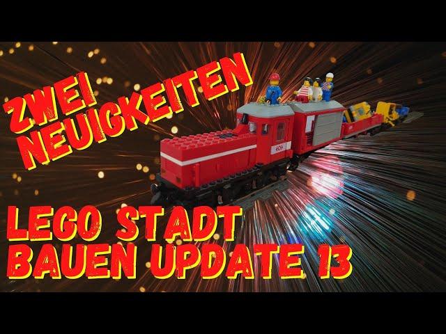 Lego Stadt bauen Update 13 eine Steinchen Stadt entsteht