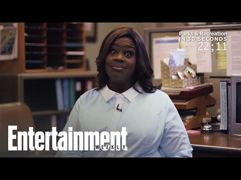 Retta Explains 'Parks And Rec' In 30 Seconds  Entertainment Weekly