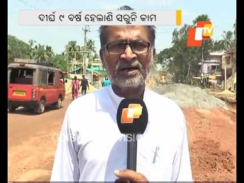 9 yrs on  Bhadrak Chandbali road yet to be completed