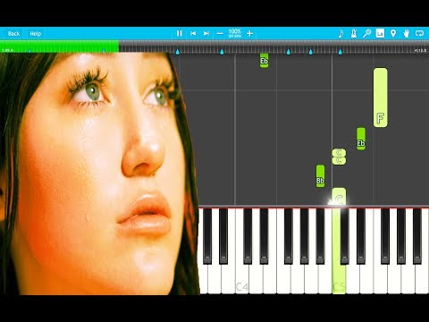 Noah Cyrus, Gallant - Mad at You PIANO Tutorial EASY (Piano Cover)
