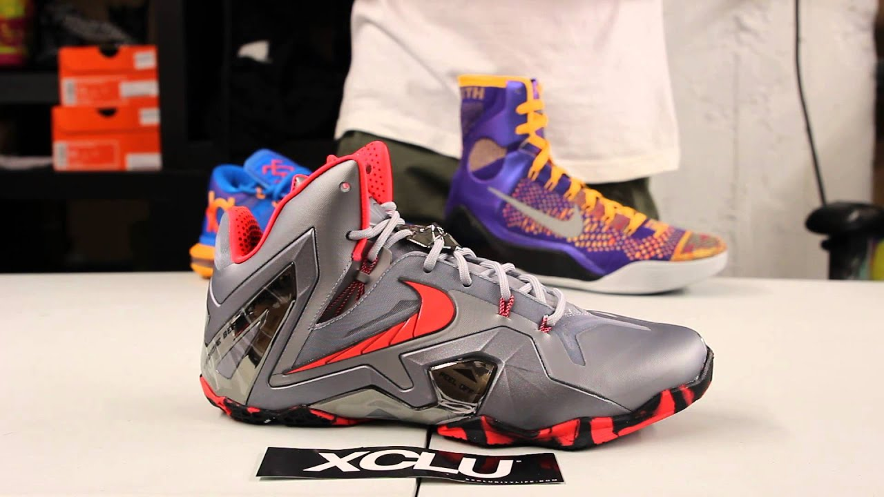 66c01cb7a671 Lebron XI Elite - Wolf Grey - Unboxing Video at Exclucity - YouTube