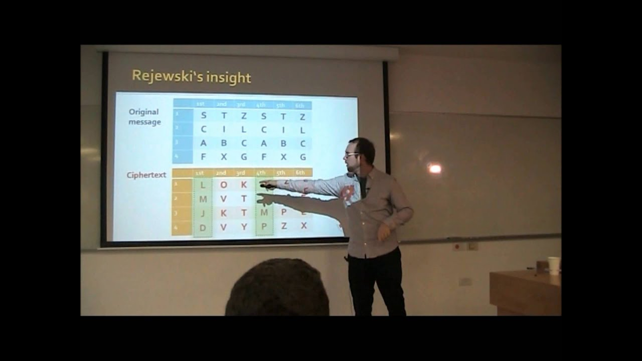 Download Ymir Vigfusson - Alan Turing Enigma Code - Technion Lecture