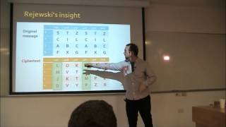 Ymir Vigfusson - Alan Turing Enigma Code - Technion Lecture