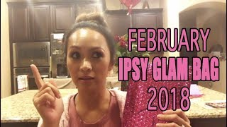 IPSY GLAM BAG FEBRUARY 2017 MY MONTHLY BEAUTY SUPPLY | ARREM 1
