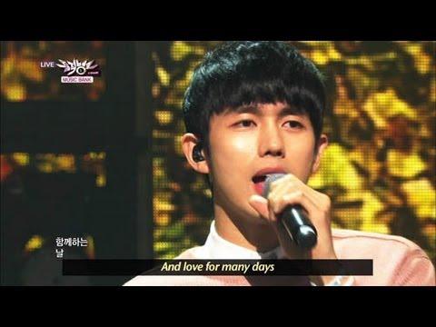 [Music Bank w/ Eng Lyrics] 2AM - One Spring Day (2013.04.06)
