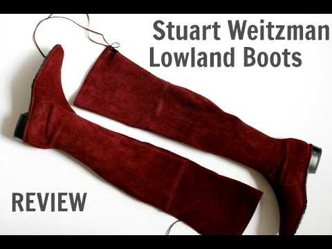 Review of the Stuart Weitzman Lowland Boots