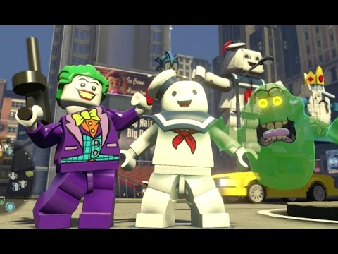 LEGO Dimensions - Ghostbusters Adventure World 100% Guide - All Collectibles