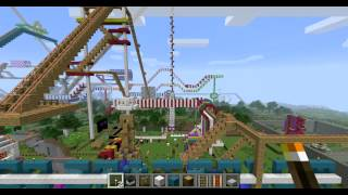 WORLD RECORD MINECRAFT ROLLER COASTER (45 MINUTES) PART 1 of 5
