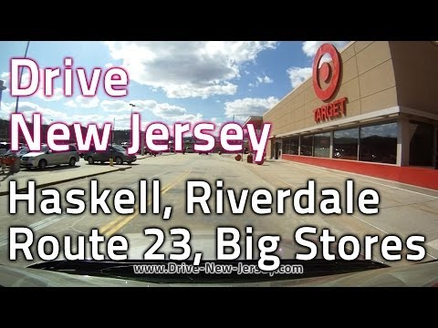 Drive New Jersey - Wanaque NJ to Riverdale to Rt23 Riverdale, Target, Walmart, Home Depot, BJ's
