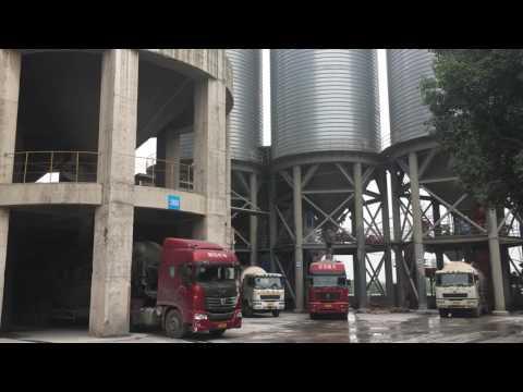 5000 Ton Grain Storage Silo Project