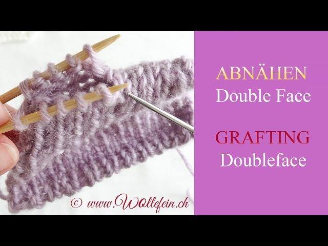 Double Knitting Kitchener Stitch : Unsichtbar Vernahen, Nahte - Kitchener Stitch, Grafting, Sewing seams Trave...