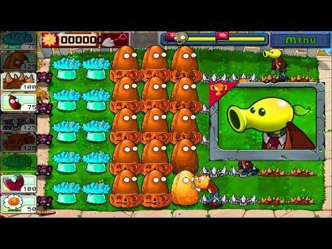 Plants vs Zombies | Minigames vs Zombotany vs Spikerock vs Tall nuts