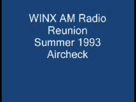 WINX AM Radio Reunion 1993