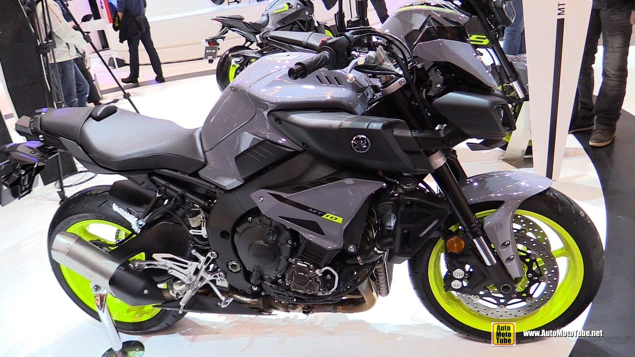 2016 yamaha mt10 walkaround 2015 salon de la moto paris youtube. Black Bedroom Furniture Sets. Home Design Ideas
