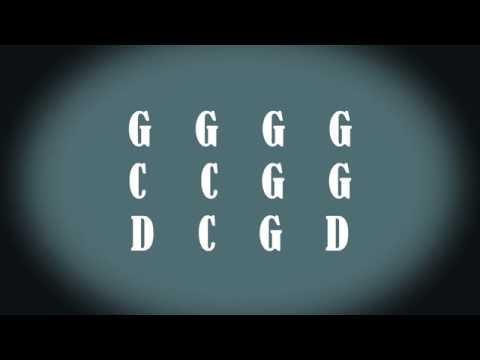 Easy Blues Shuffle Backing Track (G)