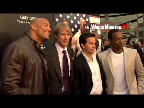 'Pain & Gain' Miami Premiere Arrivals - Mark Wahlberg, Dwayne Johnson, Michael Bay