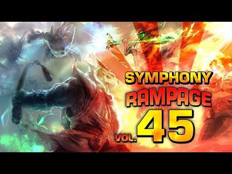 Dota 2 Symphony of Rampage 45