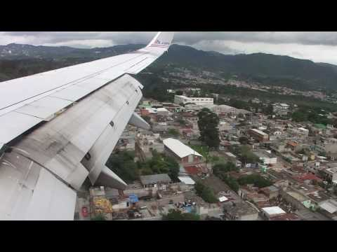 American Airlines Flight  #981 Arrival Into Guatemala City