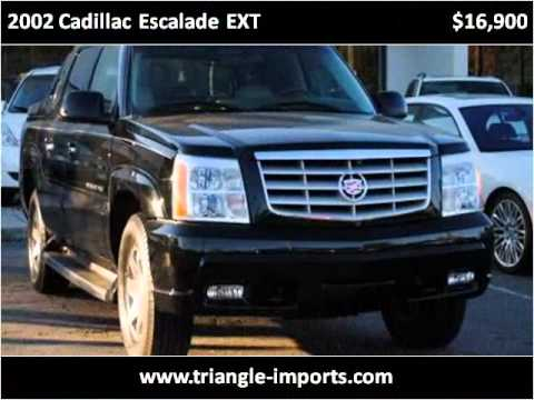2002 Cadillac Escalade EXT available from Triangle Imports