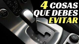 4 COSAS QUE DEBES EVITAR EN UN COCHE AUTOMÁTICO - Velocidad Total