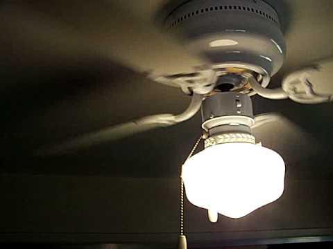 42 Hampton Bay Littleton Ceiling Fan Demo