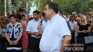 Губернатор Одесской области Михаил Саакашвили прибыл в Измаил(, 2015-08-01T10:58:25.000Z)