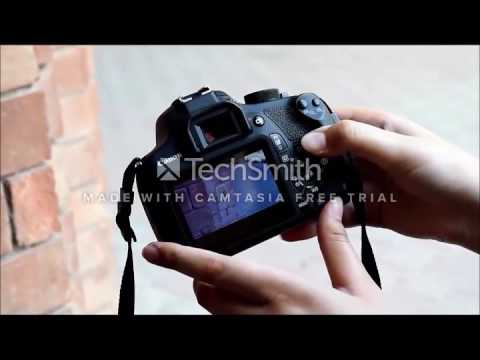 Canon 1200D Tutorial (Class Project)