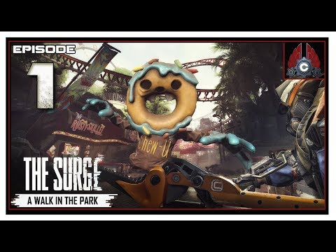 Let's Play The Surge: A Walk In The Park DLC Run With CohhCarnage - Episode 1