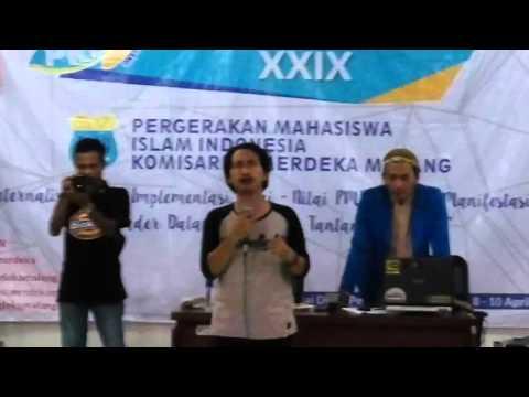 Berjuanglah PMII Oleh Fairouz Huda, S.Sos - PKD XXIX PMII Merdeka Malang 2016