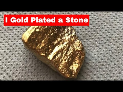 How to copper,nickel and gold plate a Stone