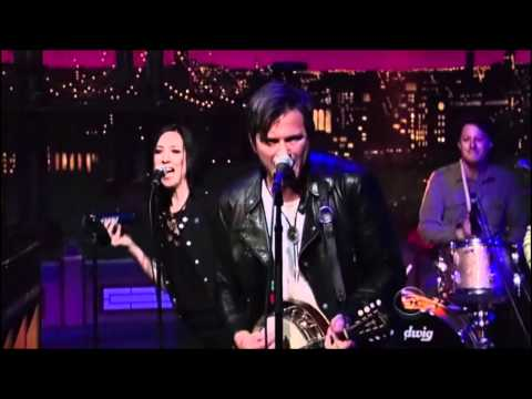 Butch Walker & the Black Widows  Synthesizers  live on Letterman