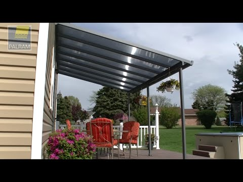 Palram Feria™ Patio Cover / Pergola / Awning