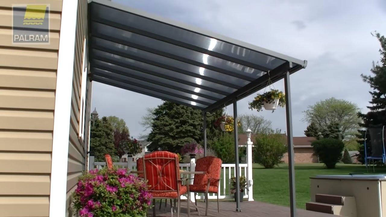 awning pergola patio cover feria by palram applications
