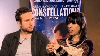 Whatsonstage.com talks to Constellations stars Rafe Spall and Sally Hawkins