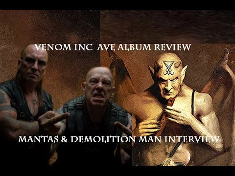 Venom Inc Ave Album Review & Venom Inc Interview Mantas & Demolition Man &
