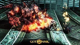 God of War 3 | Цербер и Сатиры (Титан)