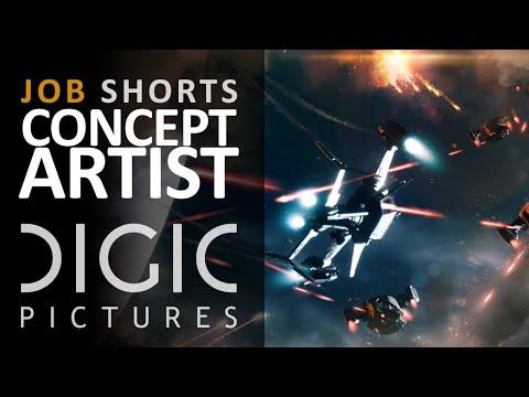 DIGIC Job Shorts - Concept Artist