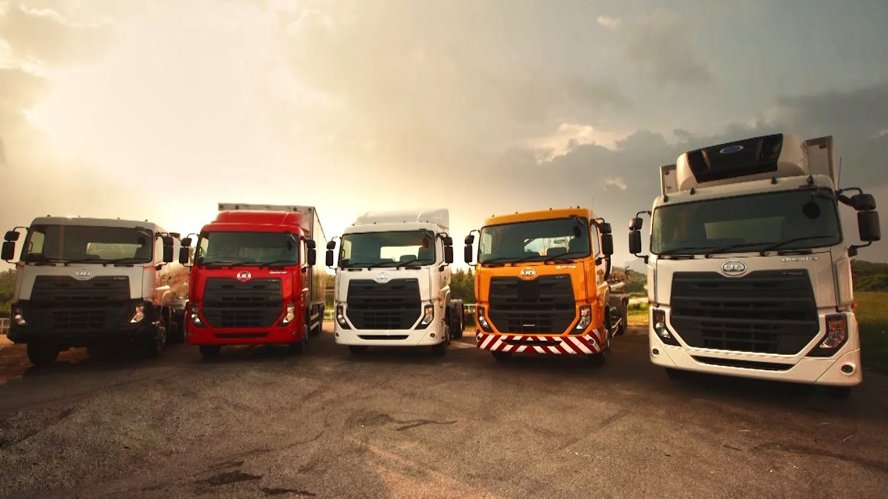 UD Trucks  Delivering the worlds first Quester