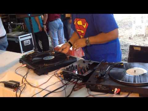 confraternidad de djs calceta 2014 julio dj en el mix LP