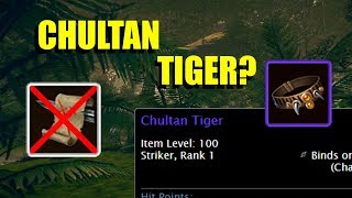 Chultan Tiger - Questionable Companions - Neverwinter
