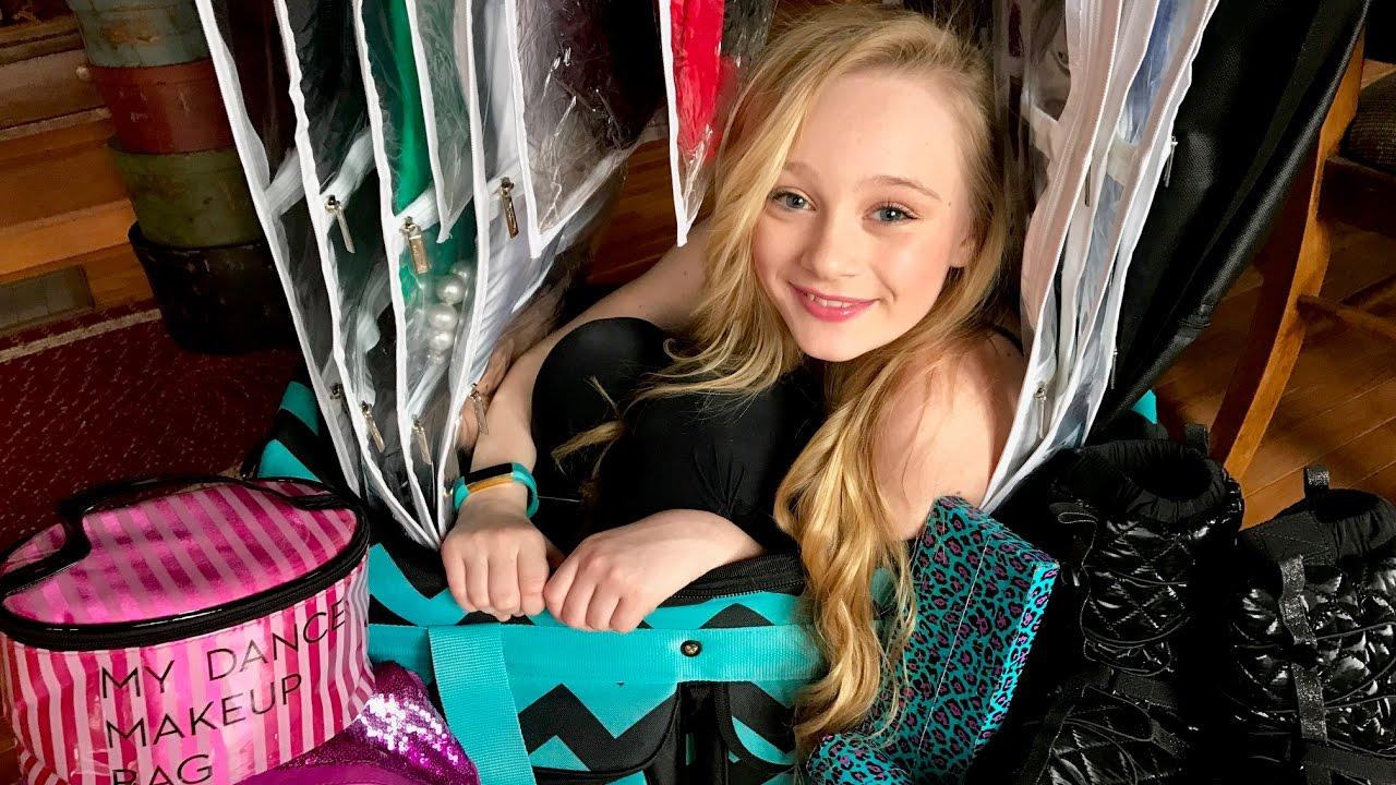 Whats in Princess Ella's Dance Bag?? competition routine ...