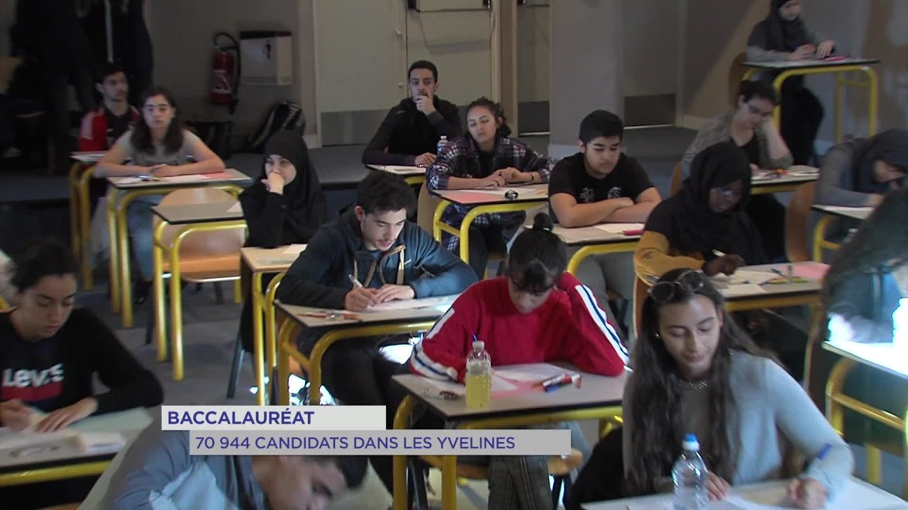 Yvelines | Baccalauréat : 70 944 candidats dans les Yvelines