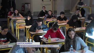 Yvelines | Baccalauréat : 70 944 candidats dans les Yvelines