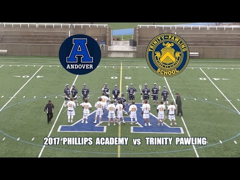 2017 Phillips Academy Andover Lacrosse vs  Trinity Pawling