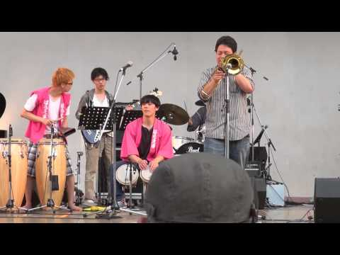 Kansai Selection Band performed as final team in Osaka-jo JF 2015