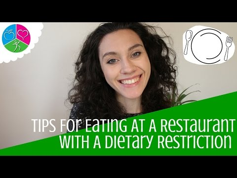 Tips For Eating At A Restaurant With A Dietary Restriction