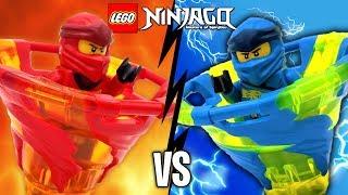 KAI vs JAY LEGO Ninjago Spinjitzu Battle & 2019 Sets Review 70659 70660