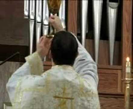 Fr James Fryar FSSP Saint Martha's Sarasota Low Mass