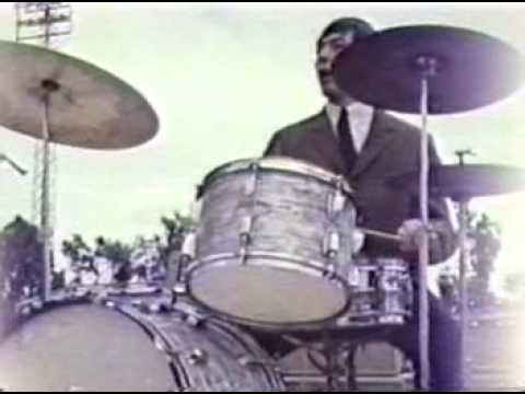 kingufokid the ROLLING STONES 1965 silent concert footage and at hotel fresno ca very very rare